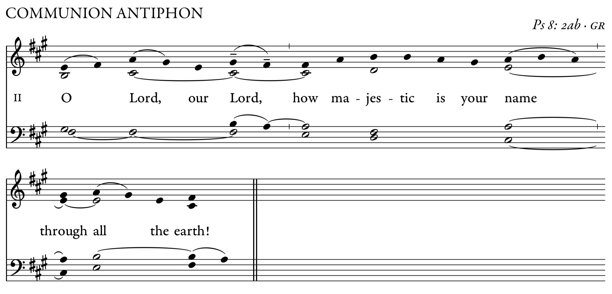 Communion Antiphon