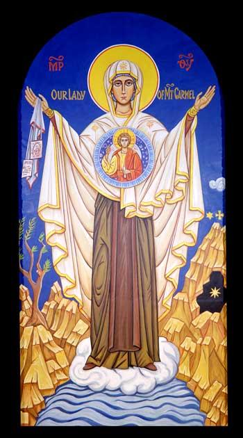Virgin of Mt. Carmel