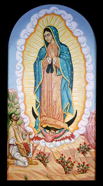 Virgin of Guadalupe Icon