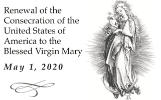 Consecration of the United States of America to the Blessed Virgin Mary